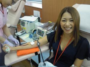 献血、初チャレンジ★