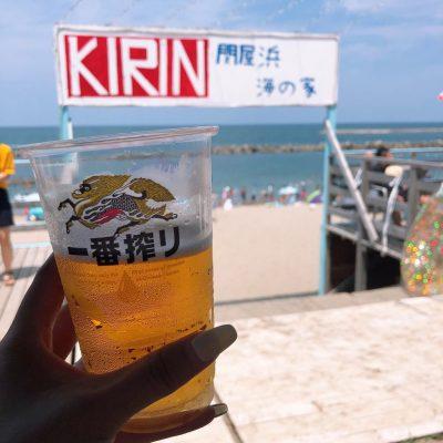 今年初関屋浜!!!