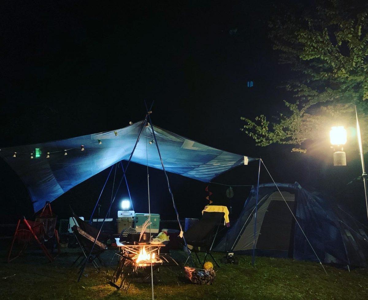 秋キャンプ♪滝谷森林公園キャンプ場♪